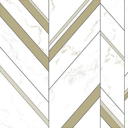 Papel de Parede Elegance 2 Geométricos Bege EL201803R