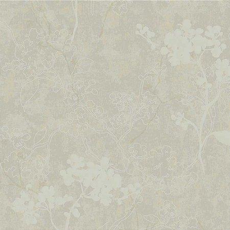 Papel de Parede Elegance 2 Floral Cinza EL202203R