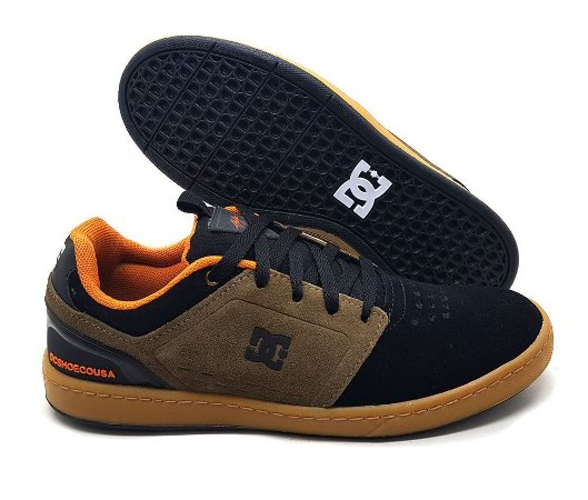 Tênis Dc Shoes Chris Cole Masculino - Preto e Marrom
