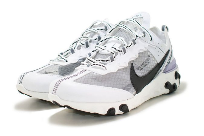 Tênis Nike React Undercover Masculino - Branco e Preto