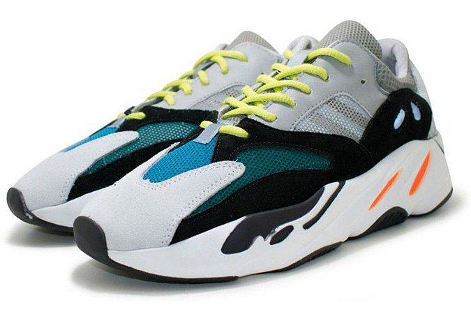 Tênis Adidas Yeezy Boost 700 Masculino - Cinza e Preto