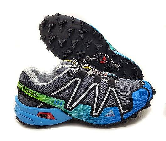 Tênis Adidas Speed Cross Masculino - Cinza e Azul