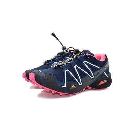 Tênis Adidas SpeedCross 3 Trava Feminino Rosa - Trilha