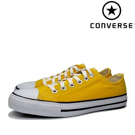 Tênis Converse All Star Linha Premium - Amarelo