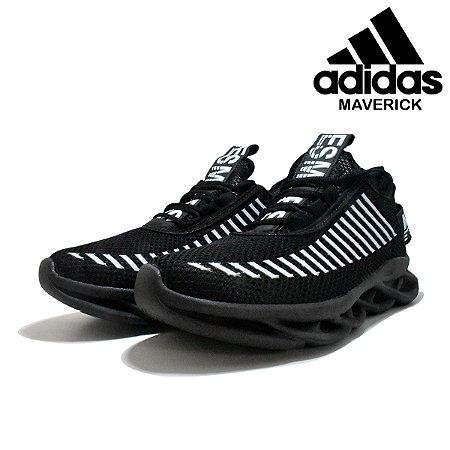 Tênis Adidas Maverick Masculino - Preto e Branco