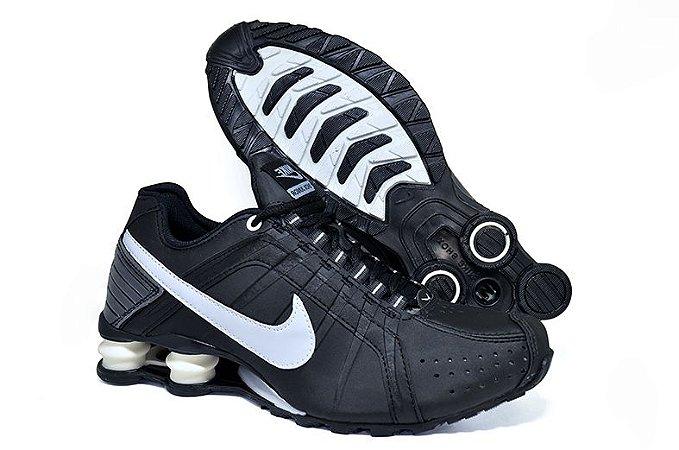 Tênis Masculino Nike Shox Junior Importado - Preto
