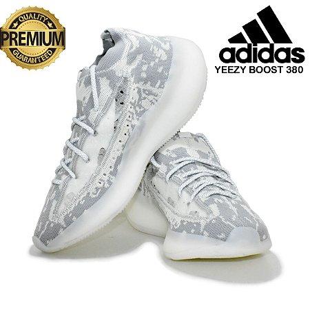 Tênis Adidas Yeezy Boost 380 Alien Masculino - Branco