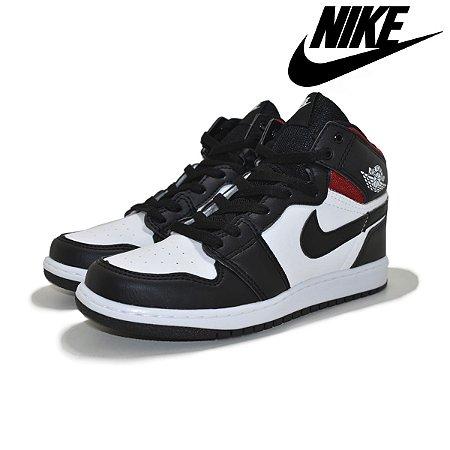 Tênis Nike Air Jordan 1 Retro Masculino - Preto e Vermelho