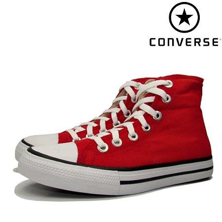 Tênis Cano Alto Converse All Star Feminino Premium - Vermelha