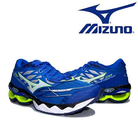 Tênis Mizuno Wave Creation 20 Masculino - Azul