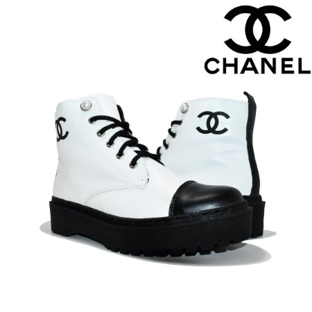 Bota Chanel Feminina Linha Premium - Lançamento