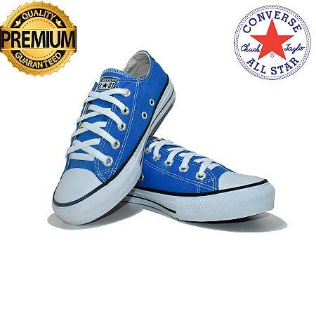 Tênis Converse All Star Snakers Feminino Premium - Azul