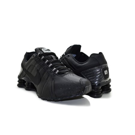 Tênis Masculino Nike Shox Junior Premium - Full Black