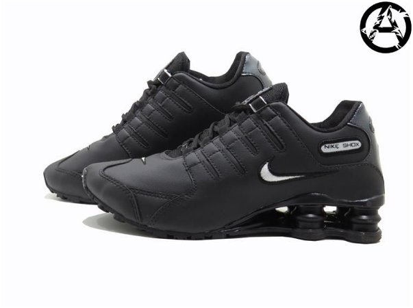 Tênis Nike Shox NZ Masculino Importado Vietnã | Preto e Branco