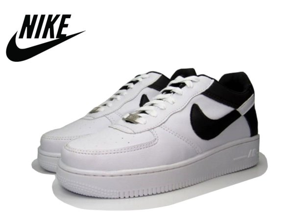 Tênis Nike Air Force NBA Edition Masculino - Branco e Preto