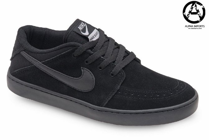 Tênis Nike SB Suketo Leather Masculino - Preto