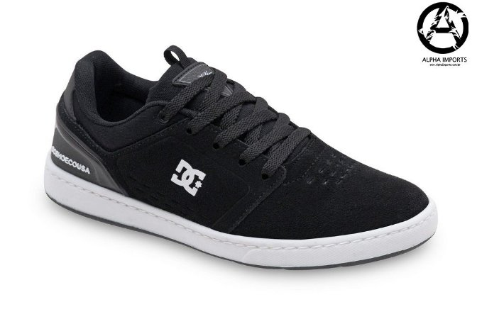 Tênis DC Shoes Chris Cole Masculino - Preto e Branco