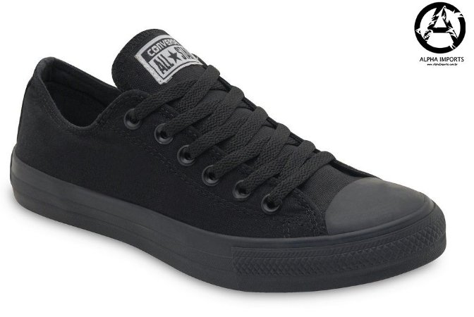 Tênis Converse All Star Chuck Taylor Full Black Masculino - Outlet