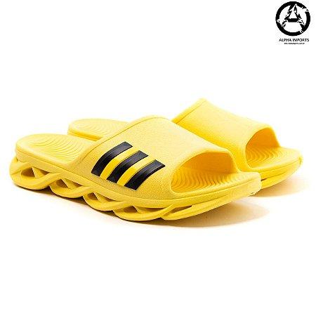 Chinelo Slide Adidas Maverick - Amarelo