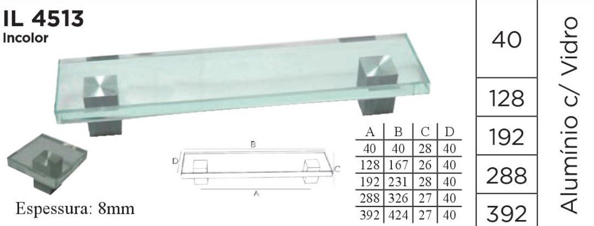 PUXADOR IL4513