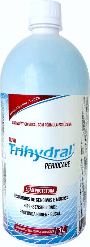 Enxaguante Bucal Antisséptico: Periocare 1L (REFIL)