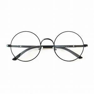 Armação De Metal Redondo Óculos Geek Retrô