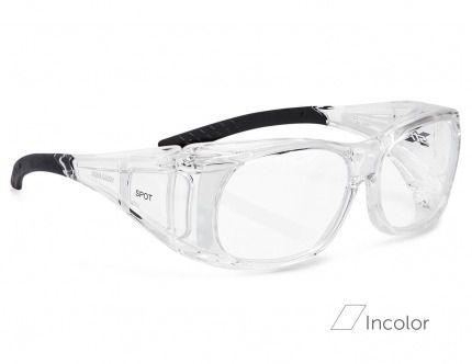 SPOT Óculos de Segurança incolor  COM LENTES GRADUADAS VISÃO SIMPLES
