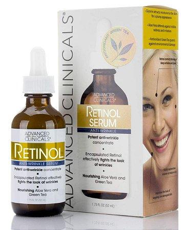 Sérum Advanced Clinicals Retinol 52 Ml Antirugas