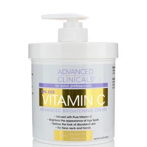 Advanced Clinicals Vitamina C Creme Clareador Avançado 454 g