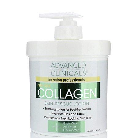 Advanced Clinicals Hidratante Collagen 454g