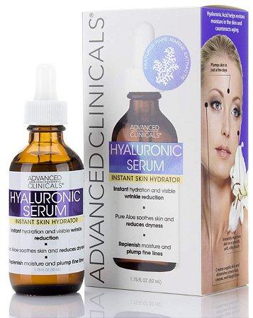 Serum Facial Advanced Clinicals Hyaluronic 52ml