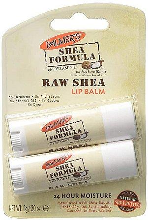 Lip Balm Palmer's Raw Shea Formula com 2 unidades
