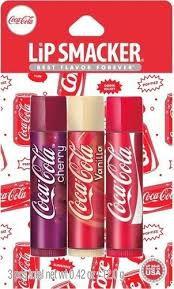 Coca Cola Lip Smaker 3 unidades