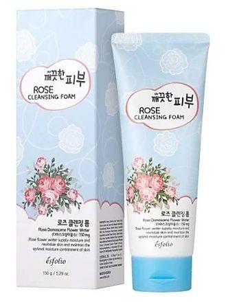 Sabonete Facial Coreano Esfolio Rosa Damascena Rose Water