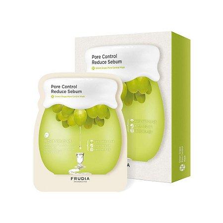 Kit Sheet Mask Pore Control Reduce Sebum Frudia com 5 unidades