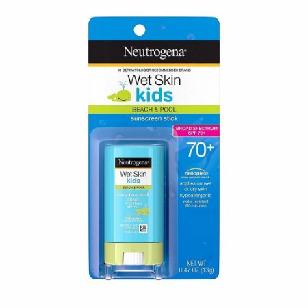 Protetor Solar Em Bastão Neutrogena (Wet Skin Kids Stick) Fps 70 - 13gr