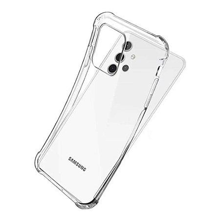 Capa Silicone Anti Impacto para Samsung A32 4G - Incolor