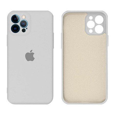 Capa C/ Proteção na Câmera para iPhone 12/12Pro - Branco