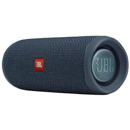 Caixa De Som Jbl Flip 5 A Prova De Agua Original - Azul