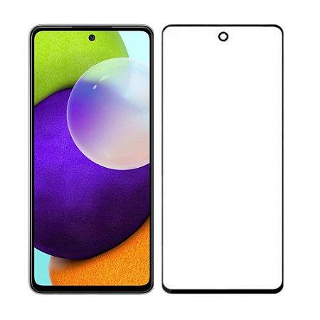 Película de Vidro 3D 5D e 6D para Samsung Galaxy A52 Preta