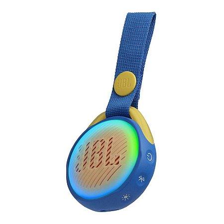 Caixa de Som JBL JR POP Bluetooth Azul 3W