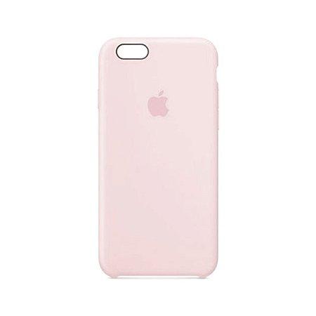 Capa Case Apple Silicone para iPhone 6G 6S - Rosa Areia