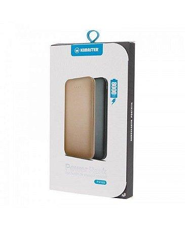 Carregador Portátil Power Bank USB 8000mah Kimaster - Preto