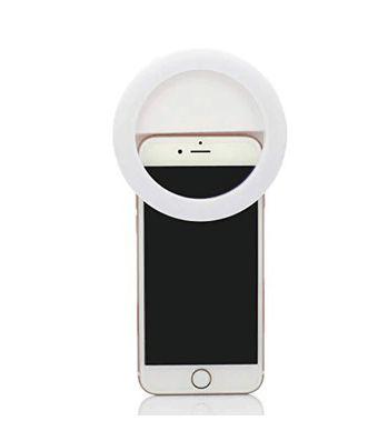Luz Selfie Ring Light Clipe Anel Led Flash Celular Universal 3 Regulagem