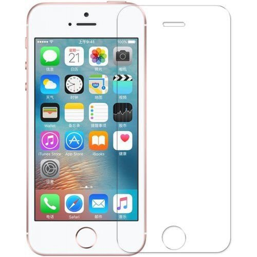Pelicula Protetora Vidro Temperado Iphone 5 5s 5G