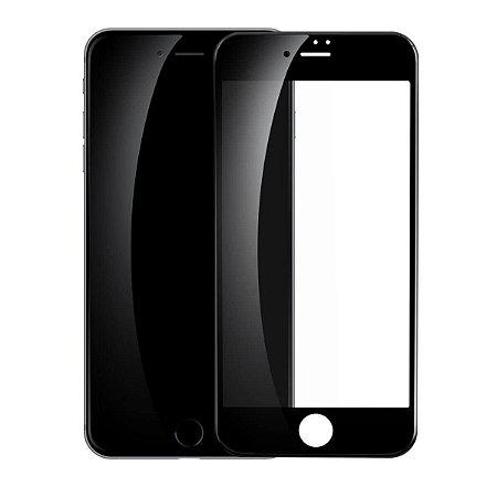 Película De Vidro 3D 5D Apple Iphone 7 8 Plus 5'5 - Preta