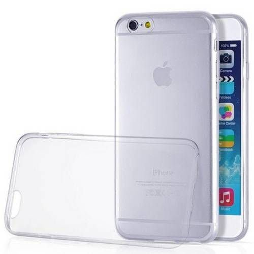 Capa Silicone Anti Impacto para iPhone 6 6S - Incolor