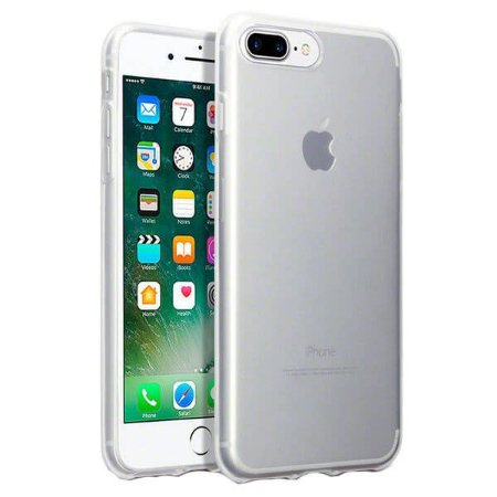Capa Silicone Anti Impacto para iPhone 7 / 8 Plus - Incolor