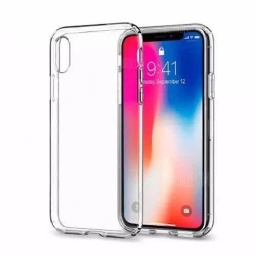 Capa Incolor Tpu Para Iphone X XS Silicone Maleável