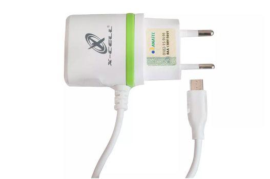 Carregador Parede Micro USB V8 1USB Ultra Rapido 2.8A X-Cell GLX